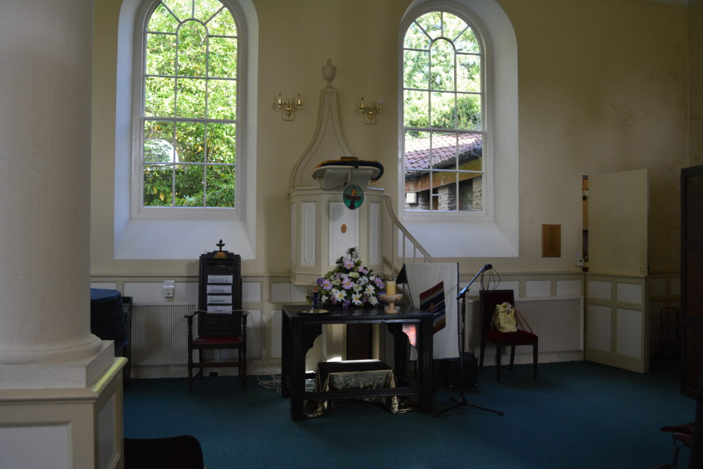 The Frenchay Chapel interior